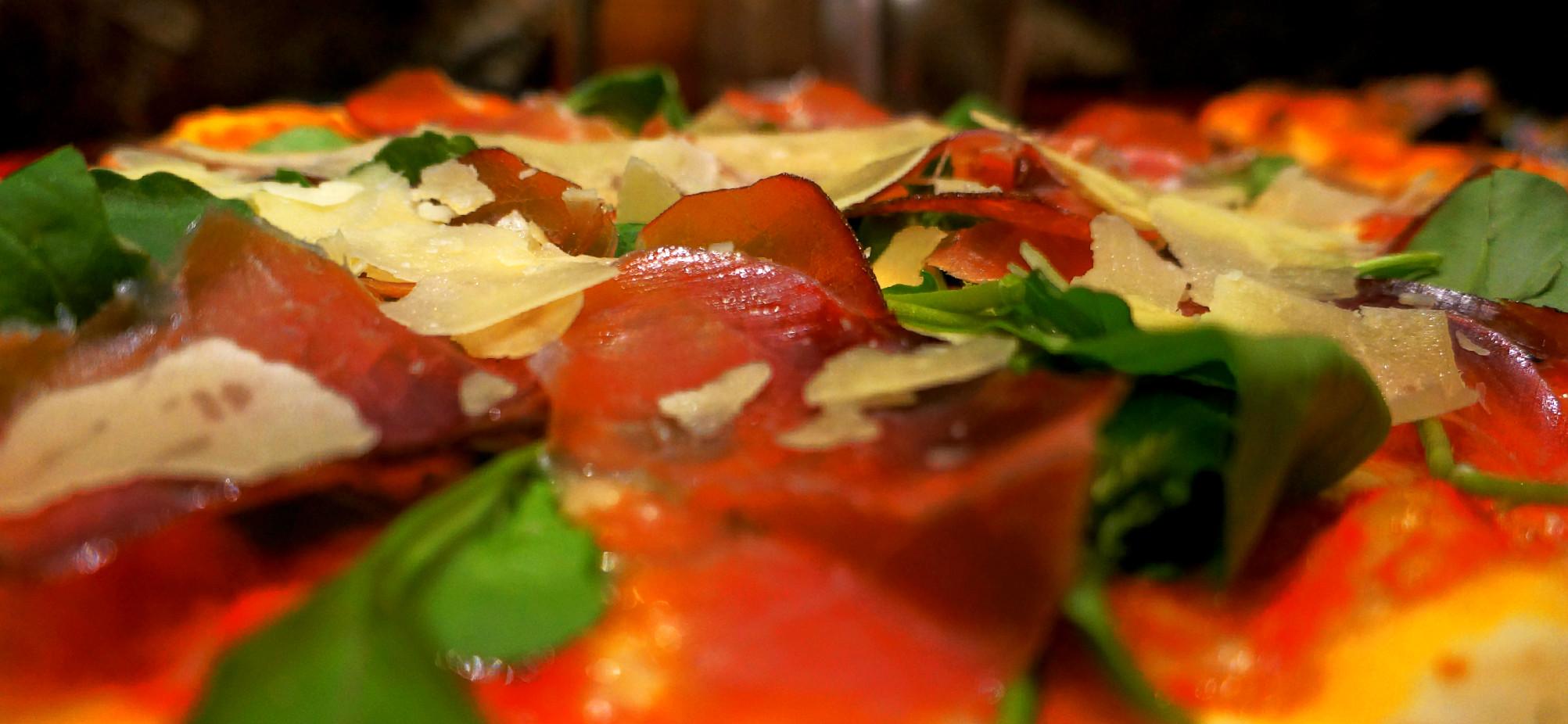 Prosciutto, rucola e parmigiano