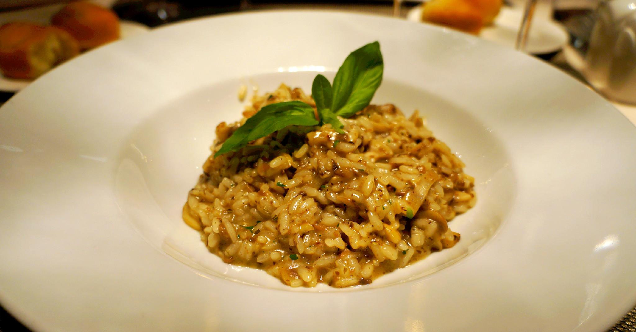 rižoto sa hobotnicom i tartufima