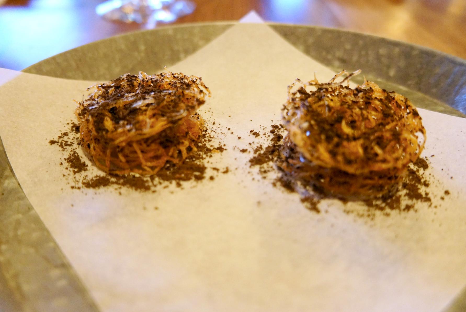 hrskavo gnezdo od krompira